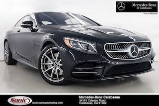 New 2019 Mercedes-Benz S-Class S 560 4MATIC Coupe in Calabasas, near Los Angeles