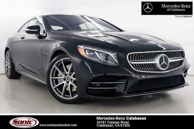 New 2019 Mercedes-Benz S-Class S 560 4MATIC Coupe serving Los Angeles, in Calabasas