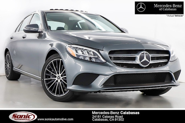 New 2019 Mercedes-Benz C-Class C 300 Sedan serving Los Angeles, in Calabasas