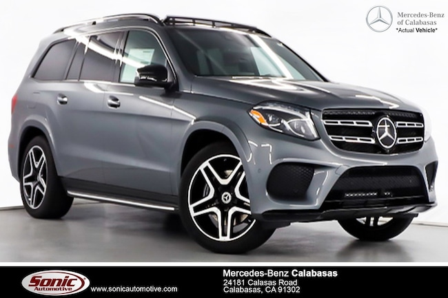 New 2019 Mercedes-Benz GLS 550 4MATIC SUV serving Los Angeles, in Calabasas