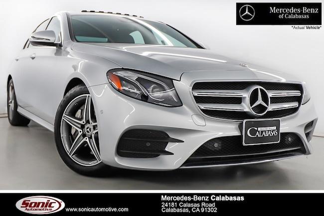 Certified Pre-Owned 2018 Mercedes-Benz E-Class E 300 Sedan serving Los Angeles, in Calabasas