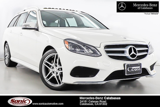 Certified Pre-Owned 2016 Mercedes-Benz E-Class E 350 4MATIC Luxury Wagon serving Los Angeles, in Calabasas