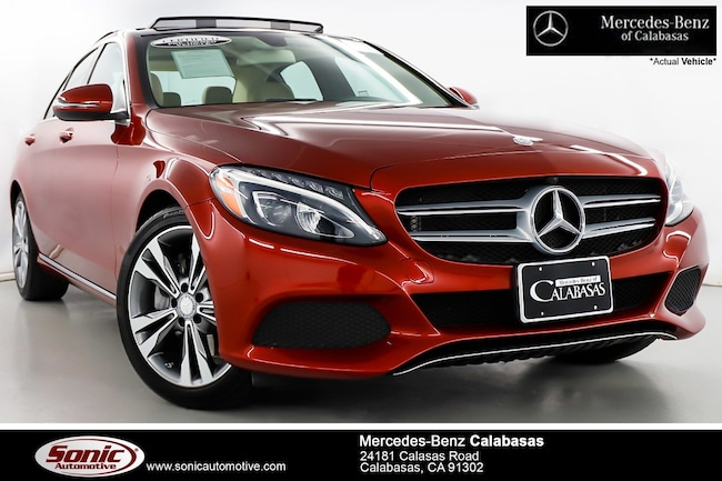 Certified Pre-Owned 2016 Mercedes-Benz C-Class C 300 Sedan serving Los Angeles, in Calabasas