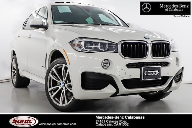 Used 2016 BMW X6 sDrive35i Sports Activity Coupe near Los Angeles, CA