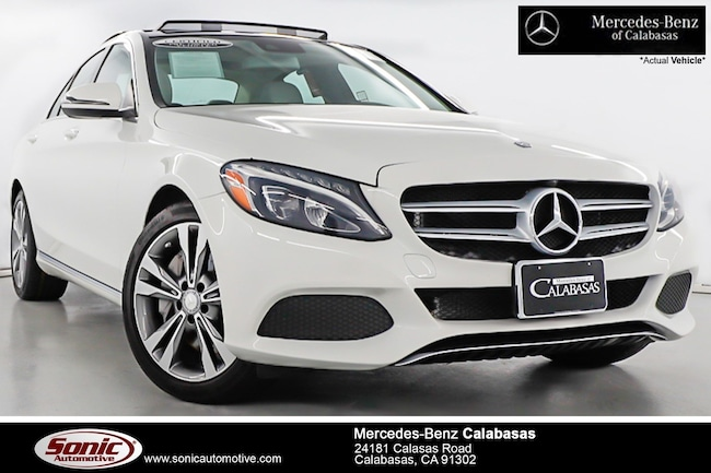 Certified Pre-Owned 2016 Mercedes-Benz C-Class C 350e Sedan serving Los Angeles, in Calabasas