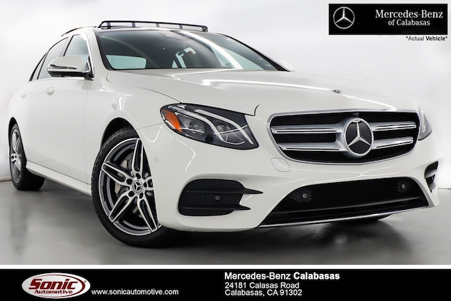 New 2019 Mercedes-Benz E-Class E 300 Sedan serving Los Angeles, in Calabasas