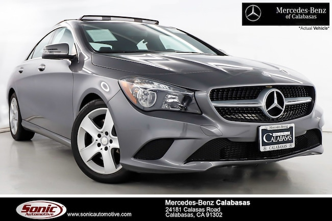 Certified Pre-Owned 2016 Mercedes-Benz CLA 250 Coupe serving Los Angeles, in Calabasas