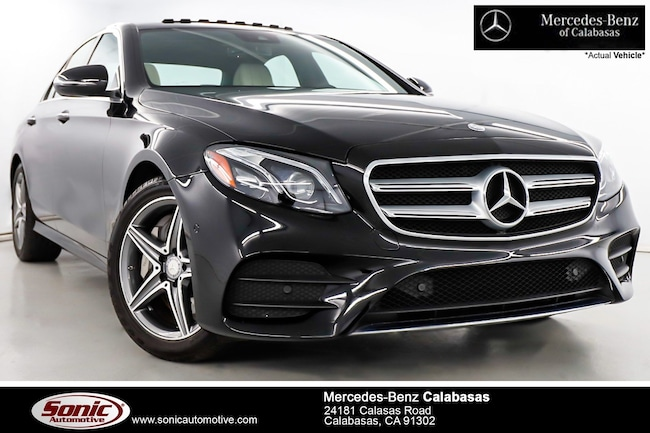 Certified Pre-Owned 2017 Mercedes-Benz E-Class E 300 Sedan serving Los Angeles, in Calabasas