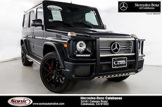 Certified Pre-Owned 2016 Mercedes-Benz AMG G G65 4MATIC SUV serving Los Angeles, in Calabasas
