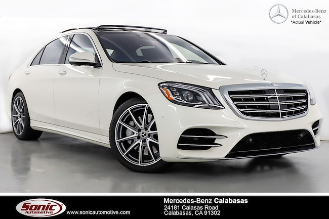 New 2019 Mercedes-Benz S-Class S 560 Sedan serving Los Angeles, in Calabasas
