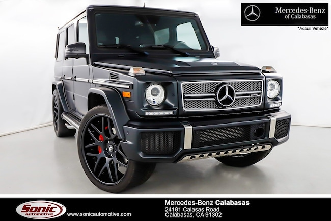 Used 2016 Mercedes-Benz AMG G G65 4MATIC SUV near Los Angeles, CA