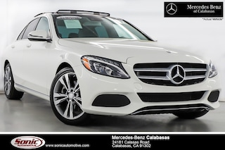Certified Pre-Owned 2017 Mercedes-Benz C-Class C 300 Sedan serving Los Angeles, in Calabasas