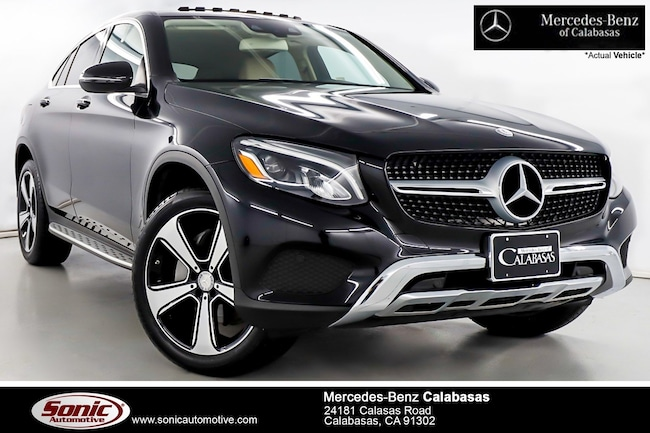 Certified Pre-Owned 2017 Mercedes-Benz GLC 300 4MATIC SUV serving Los Angeles, in Calabasas