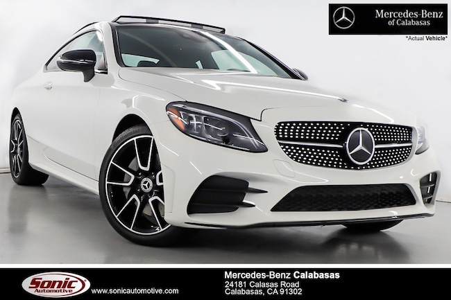 New 2019 Mercedes-Benz C-Class C 300 Coupe serving Los Angeles, in Calabasas