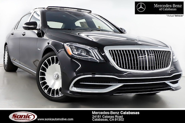 New 2019 Mercedes-Benz Maybach S 560 4MATIC Sedan serving Los Angeles, in Calabasas