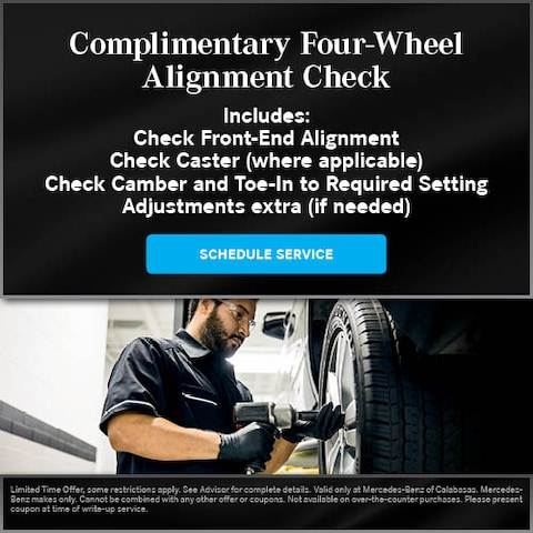Four-Wheel Alignment Check