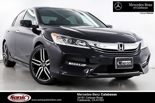 Used 2017 Honda Accord Sport Sedan near Los Angeles, CA