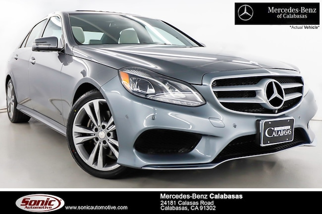 Certified Pre-Owned 2016 Mercedes-Benz E-Class E 350 Sedan serving Los Angeles, in Calabasas