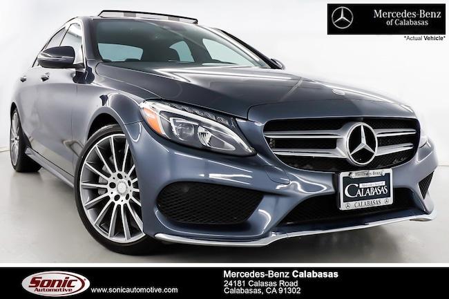 Certified Pre-Owned 2016 Mercedes-Benz C-Class C 300 Sedan serving Los Angeles, in Calabasas