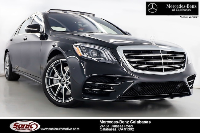 New 2019 Mercedes-Benz S-Class S 450 4MATIC Sedan serving Los Angeles, in Calabasas