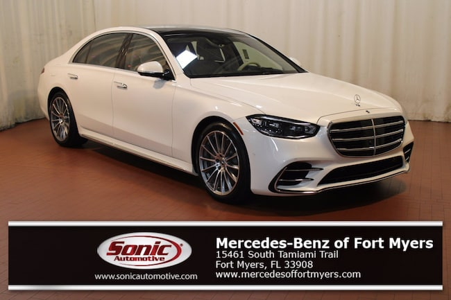 New 2021 Mercedes-Benz S-Class 4MATIC Sedan for sale in Fort Myers, FL