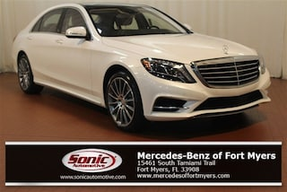 Certified 2016 Mercedes-Benz S-Class S 550 4dr Sdn  RWD Sedan in Fort Myers