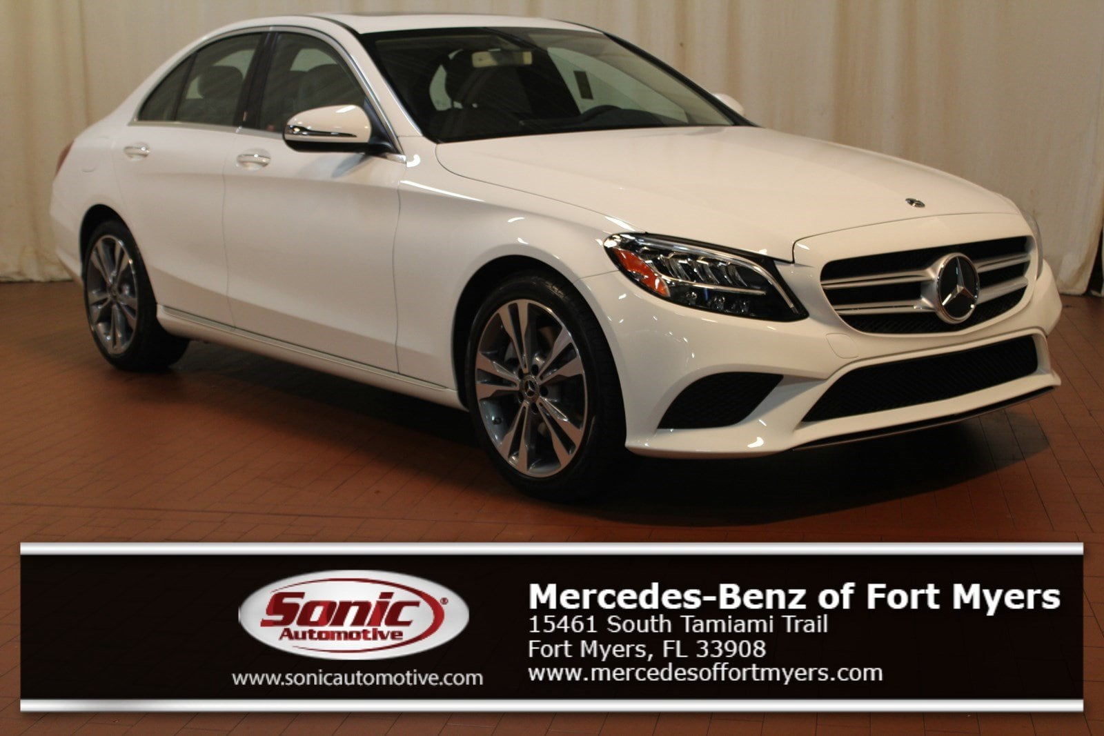 New 2019 Mercedes Benz C Class C 300 Sedan For Sale In Fort Myers
