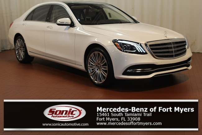 New 2019 Mercedes-Benz S-Class S 450 Sedan for sale in Fort Myers, FL