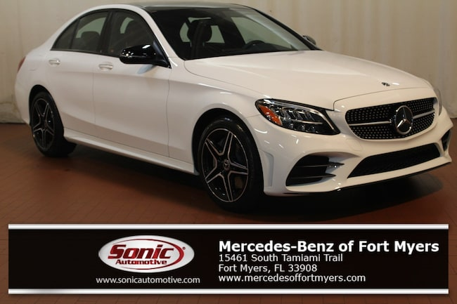 New 2019 Mercedes-Benz C-Class C 300 4MATIC Sedan for sale in Fort Myers, FL