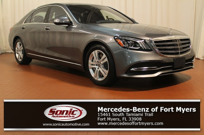 New 2018 Mercedes-Benz S-Class S 560 4MATIC Sedan for sale in Fort Myers, FL
