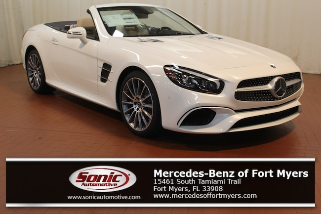 New 2019 Mercedes-Benz SL 450 Roadster for sale in Fort Myers, FL