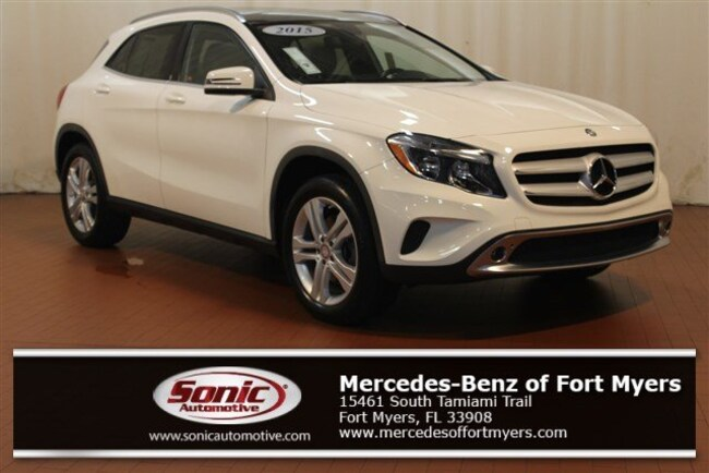 Used 2015 Mercedes-Benz GLA GLA 250 FWD 4dr SUV for sale in Fort Myers, FL