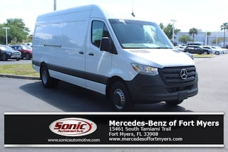 New 2019 Mercedes-Benz Sprinter 2500 High Roof V6 Van Crew Van Arctic White for sale Fort Myers, FL