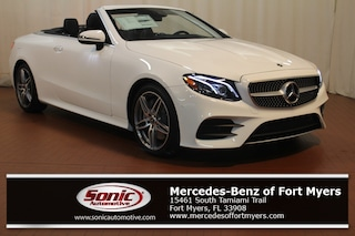New 2019 Mercedes-Benz E-Class E 450 Cabriolet for sale Fort Myers, FL