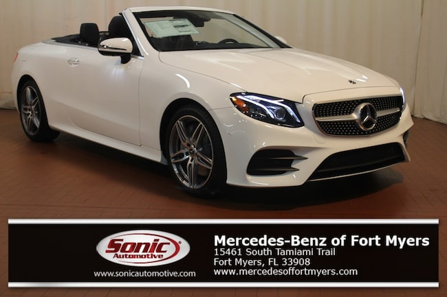 New 2019 Mercedes-Benz E-Class E 450 Cabriolet for sale in Fort Myers, FL