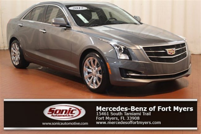 Used 2017 CADILLAC ATS Luxury RWD 4dr Sdn 2.0L Sedan for sale in Fort Myers, FL