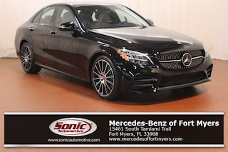 New 2019 Mercedes-Benz C-Class C 300 Sedan Black for sale Fort Myers, FL