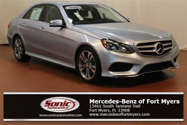 Certified Pre-Owned 2016 Mercedes-Benz E-Class E350 Sport 4dr Sdn  RWD Sedan for sale in Fort Myers, FL