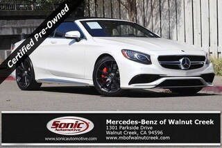 Certified 2017 Mercedes-Benz AMG S 63 AMG S 63  4matic Cabriolet Cabriolet in Fort Myers
