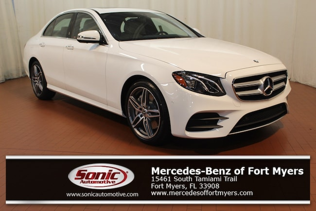 New 2019 Mercedes-Benz E-Class E 450 4MATIC Sedan for sale in Fort Myers, FL