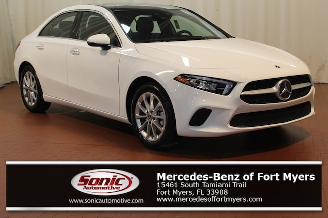 New 2019 Mercedes-Benz A-Class A 220 Sedan for sale in Fort Myers, FL
