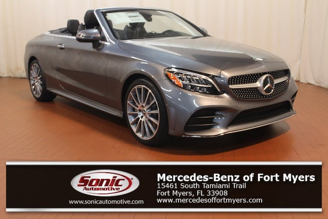 New 2019 Mercedes-Benz C-Class C 300 Cabriolet for sale in Fort Myers, FL