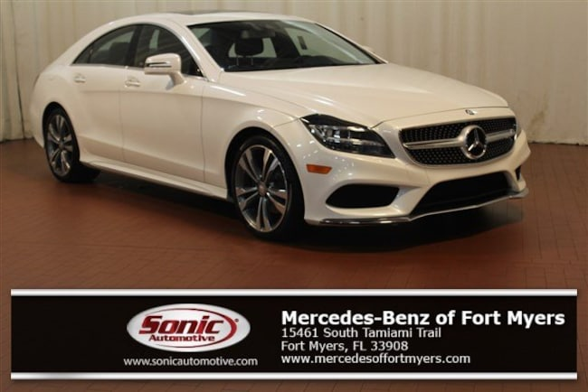 Used 2015 Mercedes-Benz CLS CLS 400 4dr Sdn  4matic Coupe for sale in Fort Myers, FL