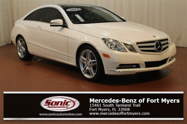 Used 2013 Mercedes-Benz E-Class E 350 2dr Cpe  RWD Coupe for sale in Fort Myers, FL