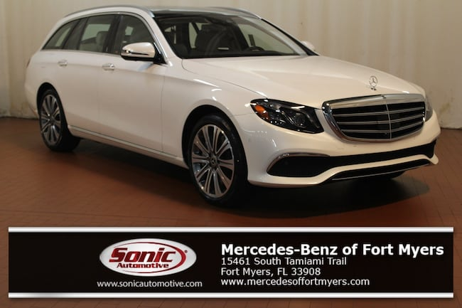 New 2019 Mercedes-Benz E-Class E 450 4MATIC Wagon for sale in Fort Myers, FL