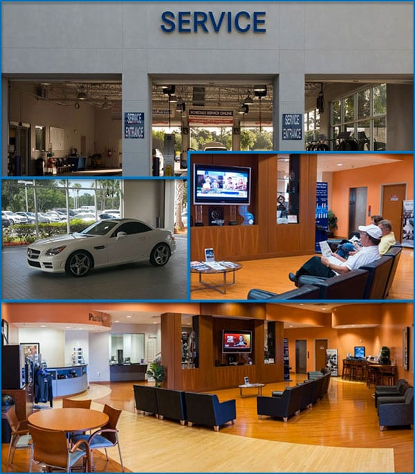 Mercedes-Benz Of Fort Myers Service Center