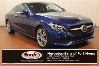 Used 2017 Mercedes-Benz C-Class C 300  4matic Coupe Coupe for sale in Fort Myers, FL