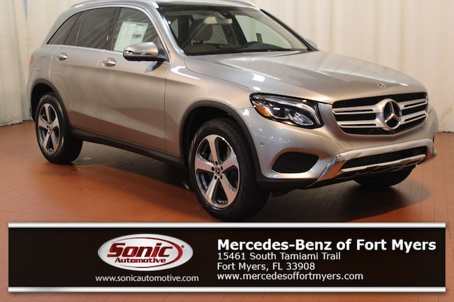 New 2019 Mercedes-Benz GLC 300 4MATIC SUV for sale in Fort Myers, FL