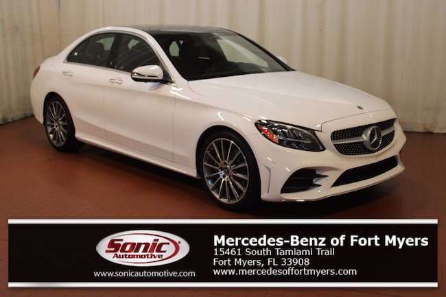 New 2021 Mercedes-Benz C-Class C 300 Sedan for sale in Fort Myers, FL