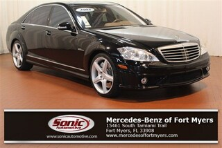 Used 2008 Mercedes-Benz S-Class 6.3L V8 AMG 4dr Sdn  RWD Sedan for sale in Fort Myers, FL